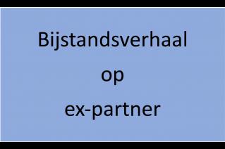 bijstandsverhaal op ex-partner